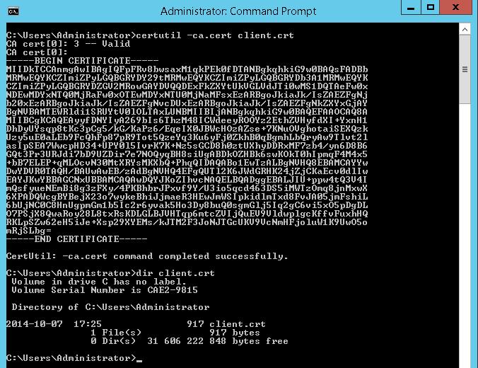 Certificate management for LDAP SSL (sldap) with Active