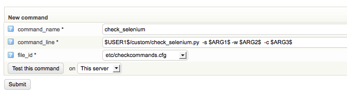 How to add Selenium tests to op5 Monitor – Support - ITRS Group
