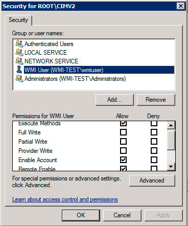 Agentless Monitoring of Windows using WMI – Support - ITRS Group